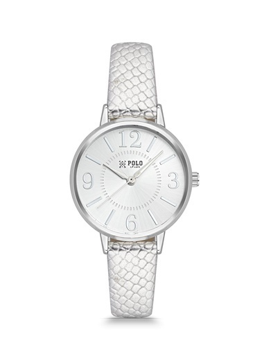 Luis Polo P1086BK08 Kadın Kol Saati Gümüş